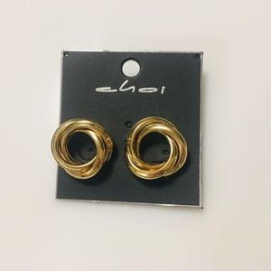 Jewelry - gold stud earrings